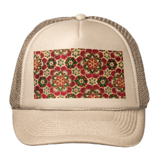 Colorful Medici Fabric Mesh Hat