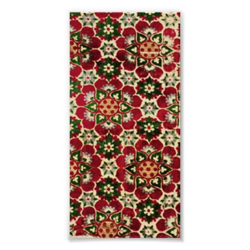 Colorful Medici Fabric Poster