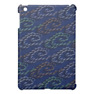 Colorful metallic clouds case for the iPad mini