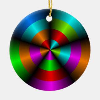 Colorful Metallic Look Christmas Ornament