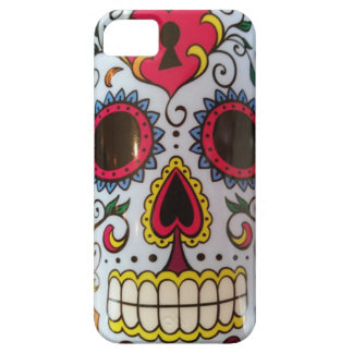 Colorful Mexican Skull Phone Cover Barely There iPhone 5 Case