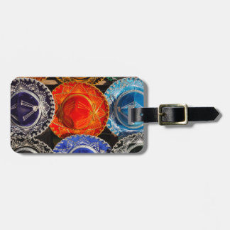 Colorful Mexican sombreros Luggage Tag