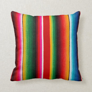 colorful mexican style cushion