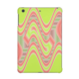 Colorful Mod Lime Green Abstract