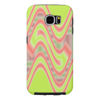 Colorful Mod Lime Green Abstract Samsung Galaxy S6 Cases