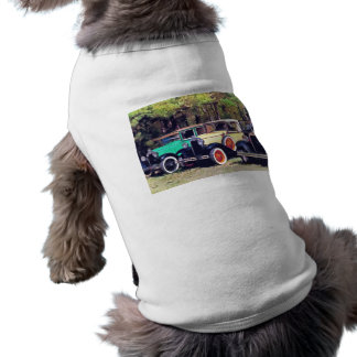 Colorful Model A's Sleeveless Dog Shirt
