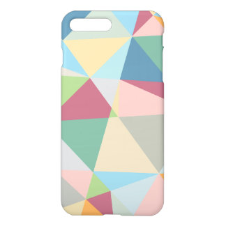 Colorful Modern Abstract Geometric Pattern iPhone 7 Plus Case