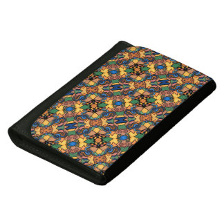 Colorful Modern Abstract Pattern Wallet For Women