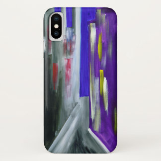 Colorful Modern Abstract Urban City IPhone Case