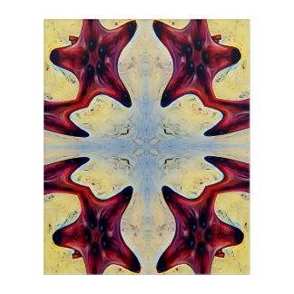 Colorful Modern Artistc Star Fish Acrylic Print