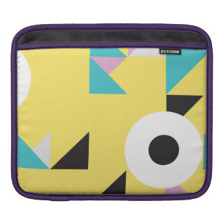 Colorful modern design background iPad cover Sleeve For iPads