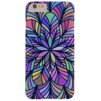 Colorful Modern Geometric Mandala GR2 Barely There iPhone 6 Plus Case
