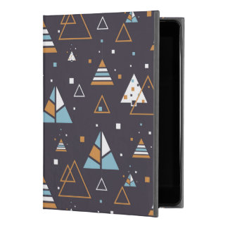 "Colorful Modern Geometric Triangles iPad Pro 9.7"" Case"