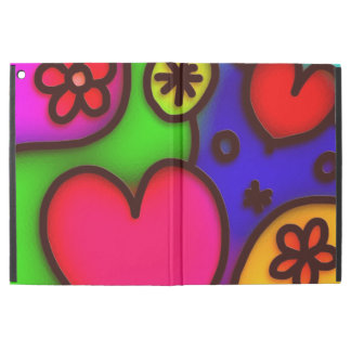 "colorful modern love 2 iPad pro 12.9"" case"