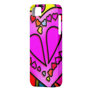 colorful modern love barely there iPhone 5 case