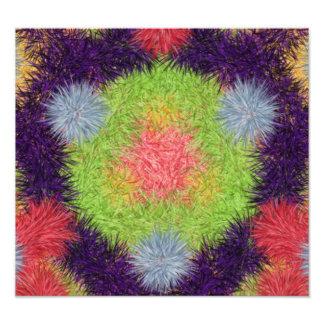 colorful modern pattern art photo