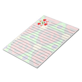 Colorful modern pattern notepad