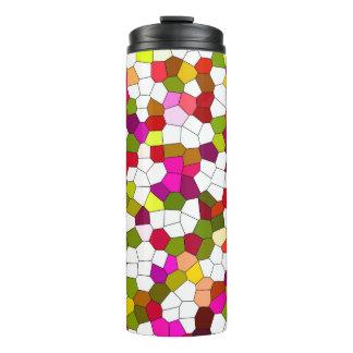 Colorful Modern Pattern Thermal Tumbler
