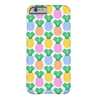 Colorful Modern Pineapple Pattern Barely There iPhone 6 Case