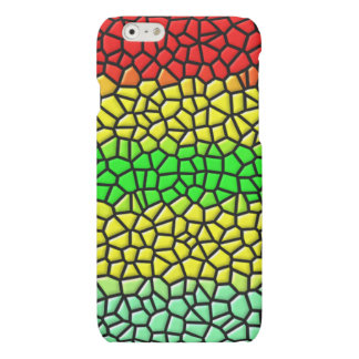 colorful modern stained glass iPhone 6 plus case