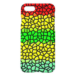 colorful modern stained glass iPhone 8/7 case