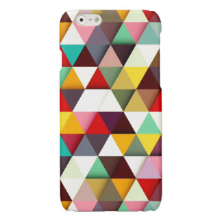 Colorful Modern Triangle Pattern iPhone 6 Plus Case