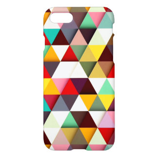 Colorful Modern Triangle Pattern iPhone 8/7 Case