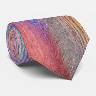 Colorful Modern Wood Grain Background #22 Tie