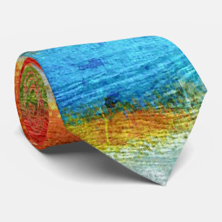 Colorful Modern Wood Grain Background #30 Tie