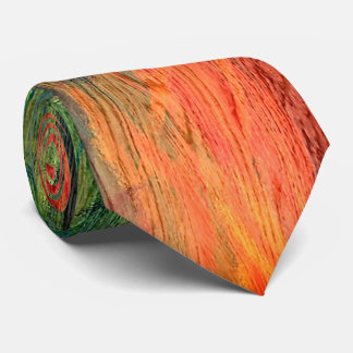 Colorful Modern Wood Grain Background #4 Tie