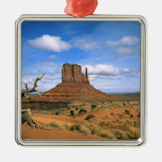 Colorful Monument Valley Mittens in Utah USA Christmas Ornament