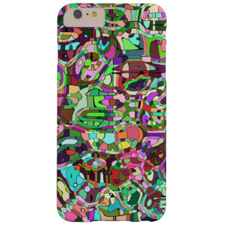 Colorful mosaic barely there iPhone 6 plus case