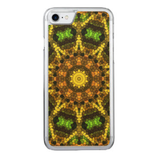 Colorful Mosaic Carved iPhone 8/7 Case