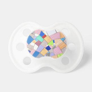 Colorful mosaic dummy