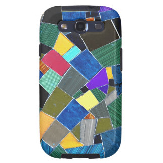 Colorful mosaic galaxy SIII covers