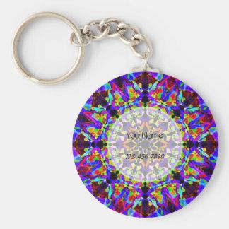 Colorful Mosaic Key Ring