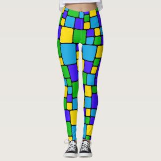 Colorful Mosaic Legging