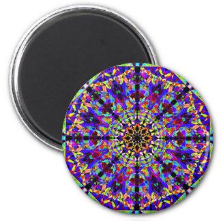 Colorful Mosaïc Mandala Magnet