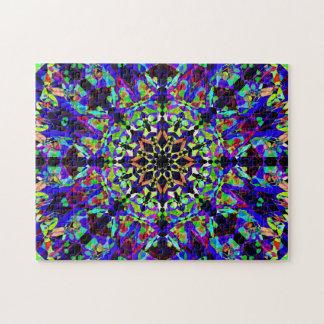 Colorful Mosaic Mandala   Peaceful Jigsaw Puzzle