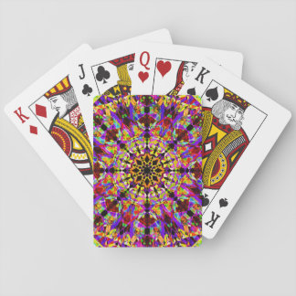 Colorful Mosaïc Mandala Poker Deck