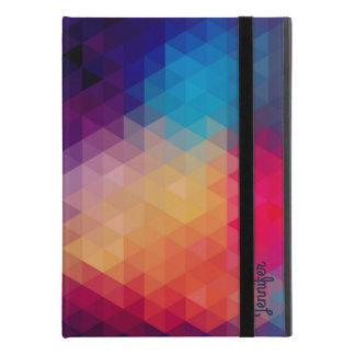 """Colorful Mosaic Modern Geometric Pattern iPad Pro 9.7"""" Case"""