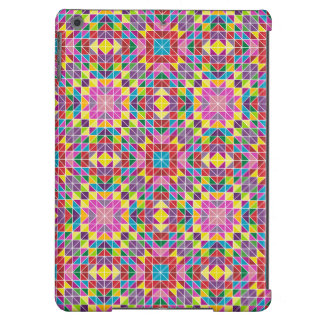 Colorful mosaic pattern case for iPad air