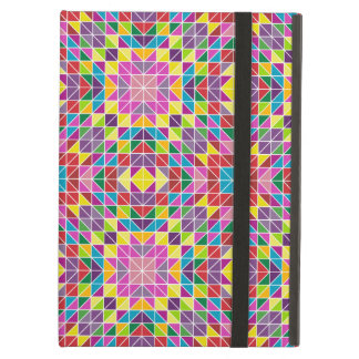 Colorful mosaic pattern iPad air cases