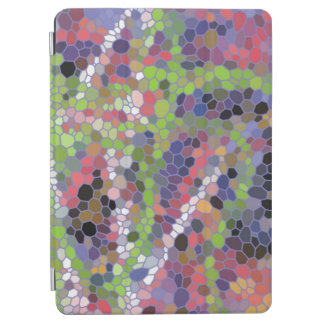 Colorful mosaic pattern iPad air cover