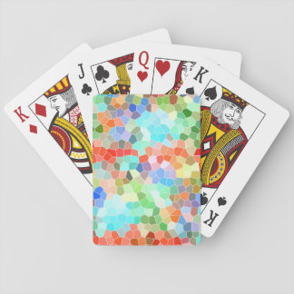 Colorful Mosaic Playing Cards