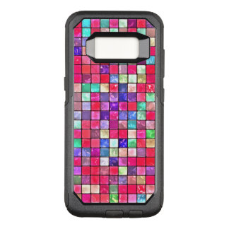 Colorful Mosaic Tile Pattern OtterBox Commuter Samsung Galaxy S8 Case