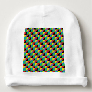 Colorful Mosic Pattern Baby Beanie