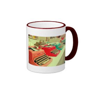Colorful mug - I love writing