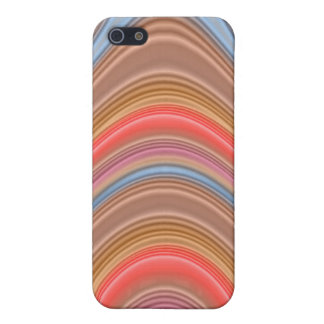 Colorful multi-line pern case for iPhone 5/5S