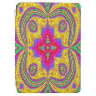 Colorful multicolored abstract pattern iPad air cover